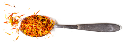 Spices on a Spoon