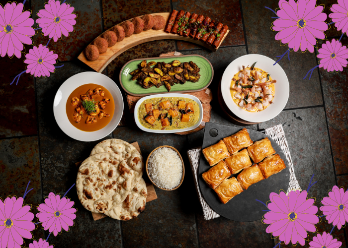 Mother's Day feast from Purple Poppadom